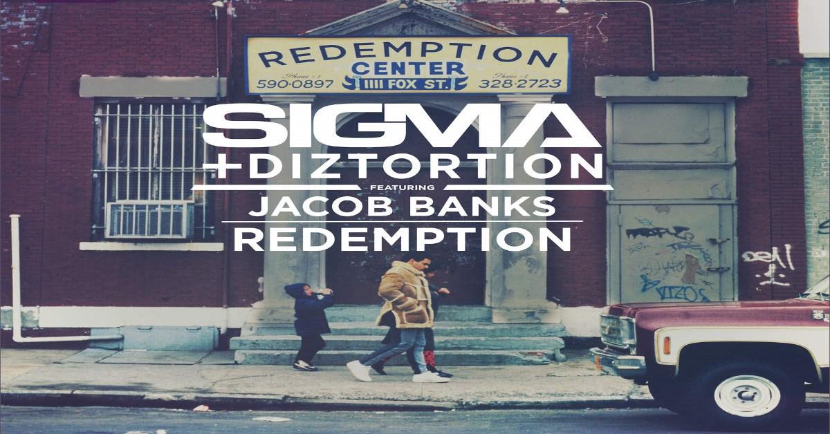 Sigma & Diztortion - Redemption ásamt Jacob Banks